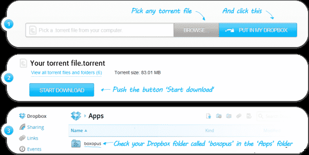 Dropbox-torrent-downloader