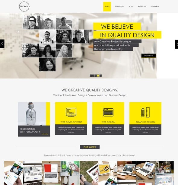 Skokov-Website-Template