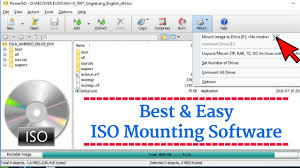 best iso mounting software